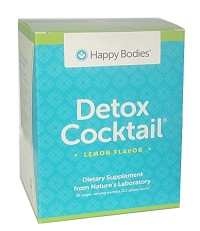 Detox Cocktail Mix 30 Individual Serving Packets Lemon Happy Bodies