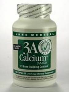3A Calcium (AAACa) 150 caps (3AC15) Lane Labs