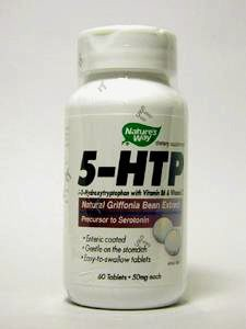 5-HTP 50 mg 60 tabs (5HTP3) Nature's Way