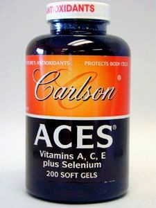 ACES Antioxidant 200 gels (ACES3) Carlson Labs