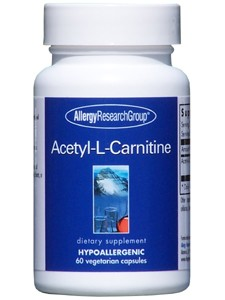 Acetyl-L-Carnitine 250 mg 60 vcaps (ACET2) Allergy Research Group