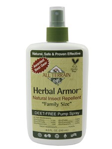 Herbal Armor Insect Repellent Spray 8 oz (AT1008) All Terrain