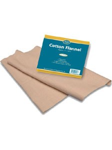 Cotton Flannel for Castor Oil 1 pack (COTT2) Baar Products