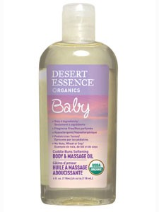 Baby Body & Massage Oil 4 oz (DE41019) Desert Essence