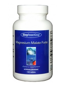 Magnesium Malate Forte 120 tabs (MAG10) Allergy Research Group