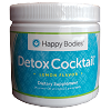 Detox Cocktail Mix 30 Serving Bottle Lemon Happy Bodies (Measuring Scoop Inside)