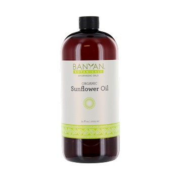 Sunflower Oil (Organic) 34 oz