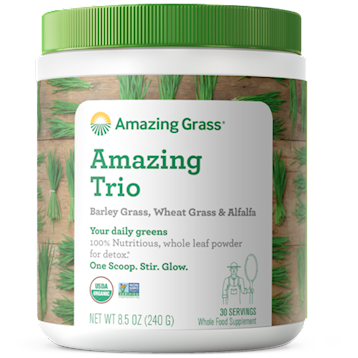 Amazing Trio (Alfal/Barley/Wheat) 8.5 oz