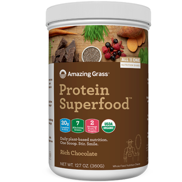 Protein SuperFood Chocolate 10 srvg Amazing Grass A56014