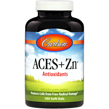 ACES + Zn 180 gels Carlson Labs ACES1