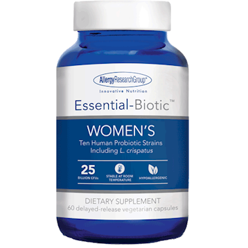 Essential-Biotic Women's 60 vegcaps Allergy Research Group A73301