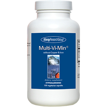 Multi-Vi-Min No Cu/No Fe 150 caps Allergy Research Group MVMNI