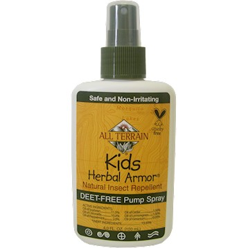 Kids Herbal Armor Insect Repell Spry 4oz