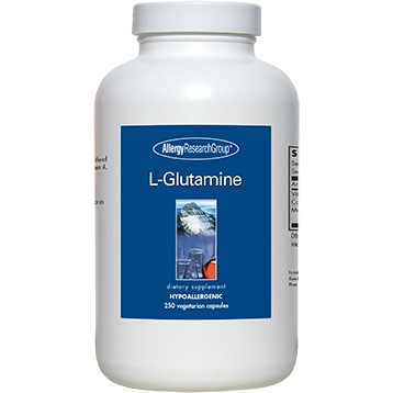 Glutamine 800 mg 250 Capsules  Allergy Research Group GL105