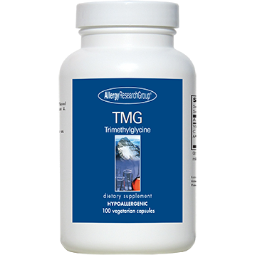 TMG (Trimethylglycine) 750 mg 100 vcaps Allergy Research Group TMG