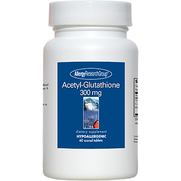 Acetyl Glutathione 300 mg 60 tabs Allergy Research Group A7060
