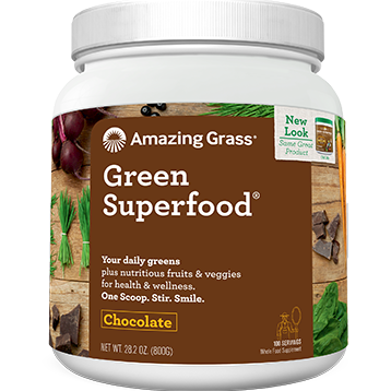 Green SuperFood Chocolate 100 servings Amazing Grass A00555
