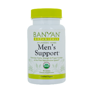 Mens Support 500 mg 90 tabs Banyan Botanicals MENSU