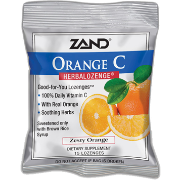 Orange C Herbalozenge® 15 lozenges Zand Herbal Z0022