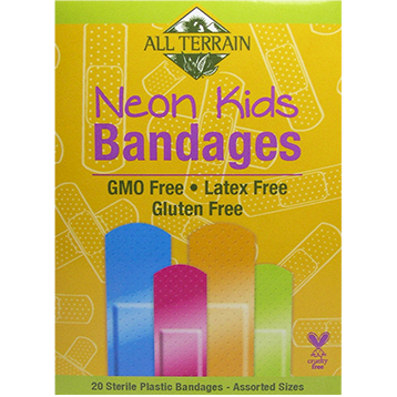 Kids Neon Bandages 20 pc