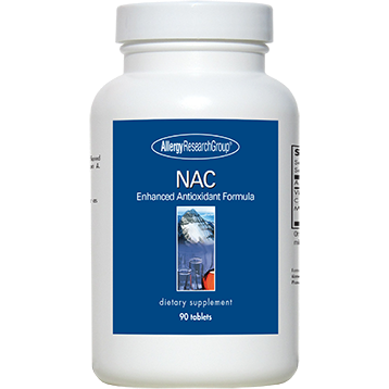 NAC 200 mg 90 tabs Allergy Research Group NAC19