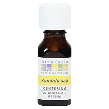 Sandalwood in Jojoba .5 oz Aura Cacia A12253