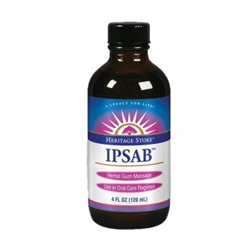 Ipsab Herbal Gum Treatment 4 fl oz Heritage