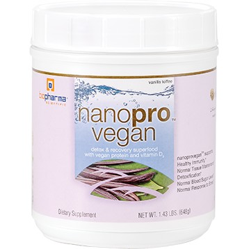 Nanopro Vegan Vanilla Toffee 30 servings