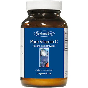 Pure Vitamin C Powder 120 gms Allergy Research Group PURCP