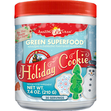 Holiday Cookie Green SuperFood 7.4 oz