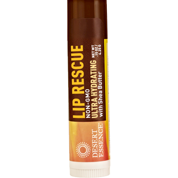 Shea Butter Lip Rescue .15 oz Desert Essence D50229