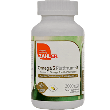 Omega 3 Platinum + D  90 softgels