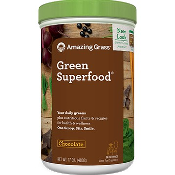 Chocolate GREENSuperFood 17 oz