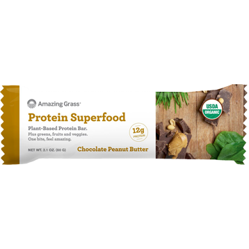 Protein Superfood? Choc PB 12 Bars Amazing Grass A50296