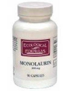 Monolaurin 600 mg 90 caps (6MONO) Ecological Formulas