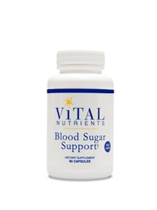 Blood Sugar Support 60 vcaps (BLO18) Vital Nutrients