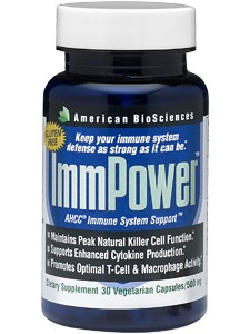 ImmPower AHCC 30 vcaps (IMMP4) American BioSciences
