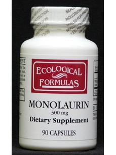 Monolaurin (Lauric Acid) 300 mg 90 caps (MONO) Ecological Formulas