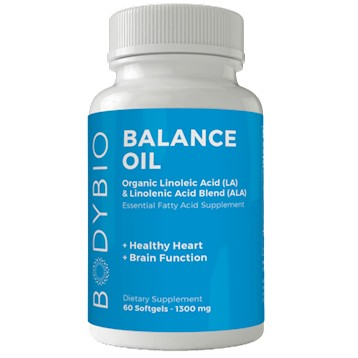 BodyBio Balance Oil 180 softgels
