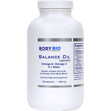 BodyBio Balance Oil 180 caps BodyBio SP102