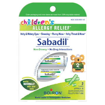 Children's Sabadil Pellets 2 tubes