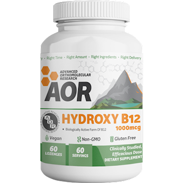 Hydroxy B-12 60 lozenges