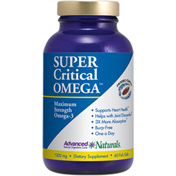 Super Critical Omega 60 gels Advanced Naturals A16739