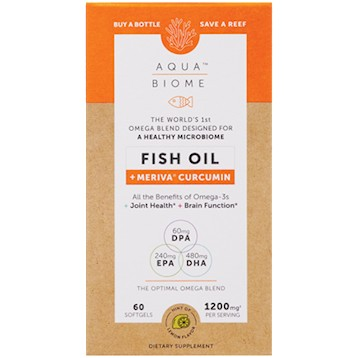 Aqua Biome  Fish Oil Mer Cur 60 softgels