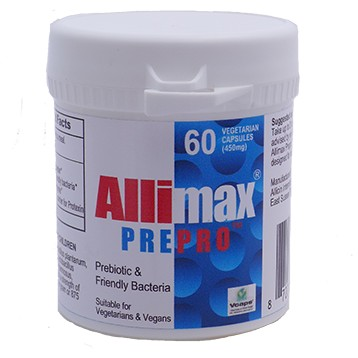 Allimax PrePro 60 vegcaps Allimax International Limited A00314