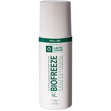 Biofreeze® Pro Roll On Green 3 fl oz BioFreeze Professional B17101