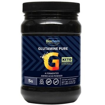 Biochem Glutamine Pure Powder 100 serv