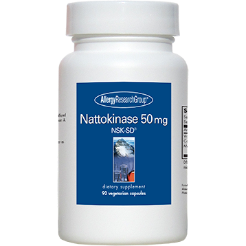 Nattokinase 90 vegcaps Allergy Research Group (NATT6)