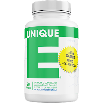 Unique E Tocopherols 90 softgels