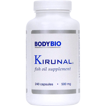 Kirunal Fish Oil 120 caps BodyBio KIRUN